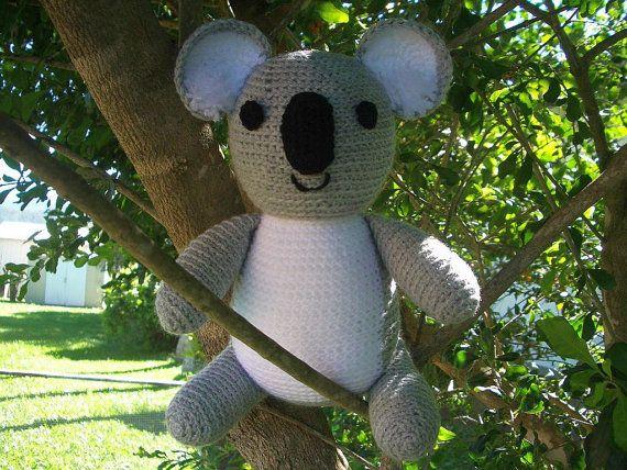 Amigurumi Koala Pattern : Amigurumi Crochet Pattern - Koala Pattern No.03