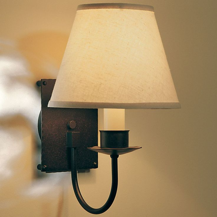 Wall Sconces Lumens : Single Light Wall Sconce With Shade