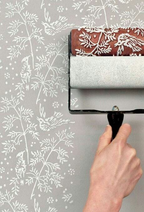 Textured Paint Roller Walls And Ceilings Stuff You Put On Them