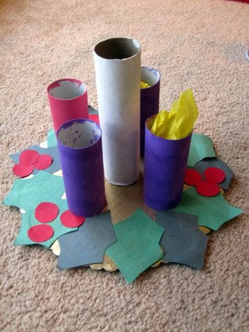 Advent wreath craft kit crafts for kids decoration crafts from