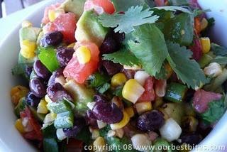 Grill Roasted Corn and Tomato Salsa | Recipe file | Pinterest