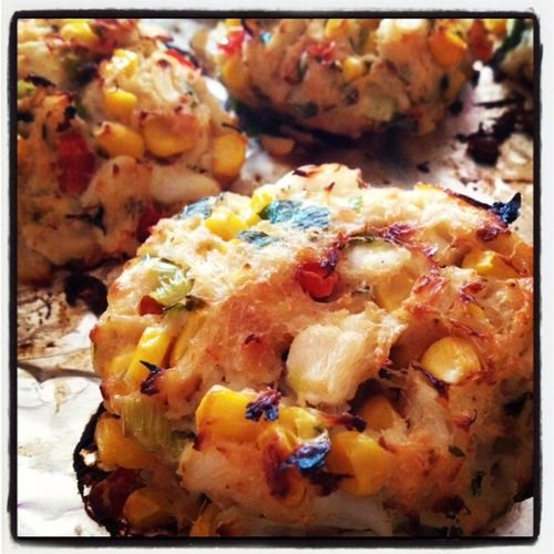 Crab And Corn Cakes Recipe — Dishmaps