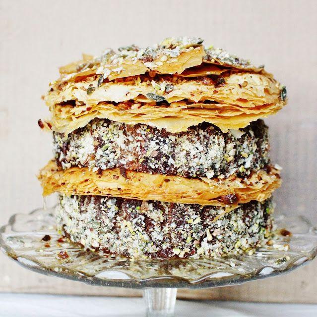 Pistachio Baklava Birthday Cake | Nuts About Pistachio(Recipes) | Pin ...