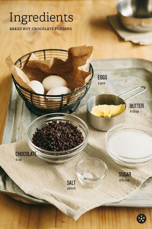 Baked Hot Chocolate Pudding3 | Recipe | Pinterest
