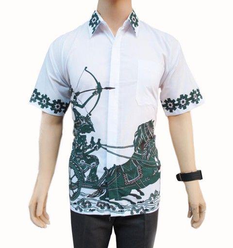 Baju Batik Pria Hp182 Baju Batik Pria Modern Pinterest