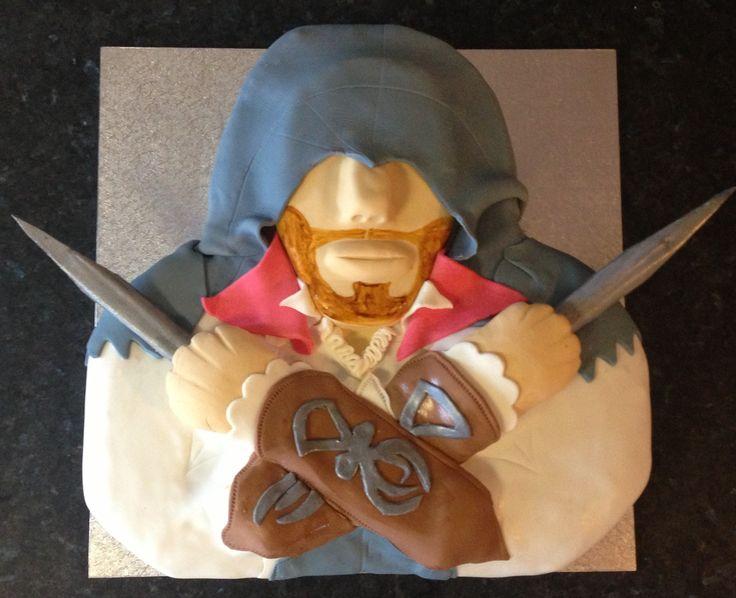 Cake Design Assassin S Creed : Pin by Rachel Hummel on Assassins creed Pinterest