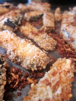 these eggplant sticks were delish! | cooking | Pinterest