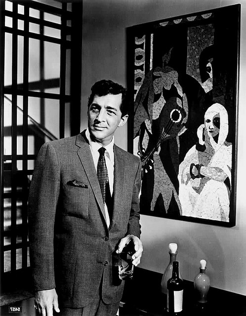 Dean Martin ~ how he saw himself in the mirror