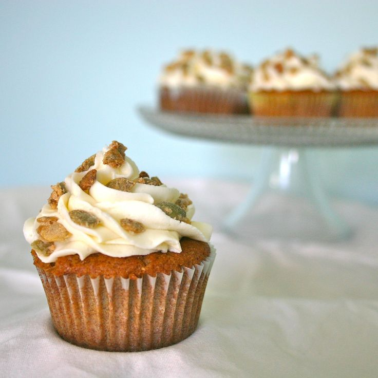 Gluten-Free Pumpkin Spice Cupcakes | gluten free recipes | Pinterest