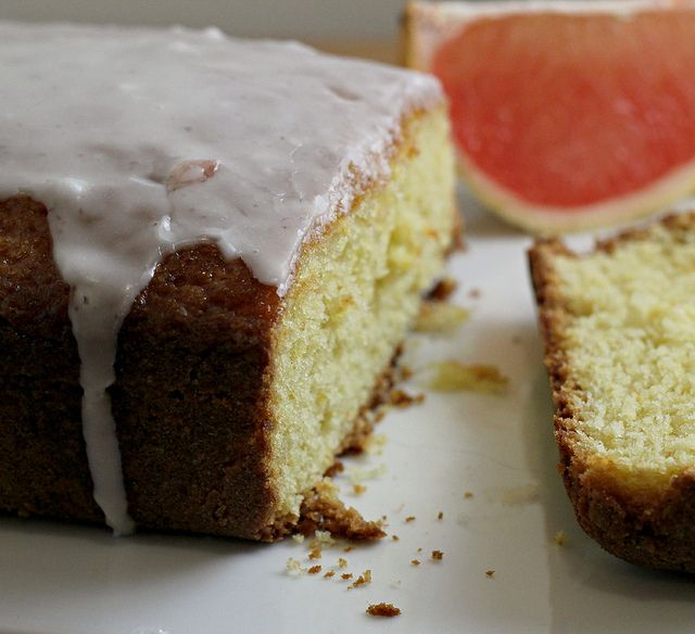 Recipe: Grapefruit Olive Oil Pound Cake | From the Kitchen | Pinterest