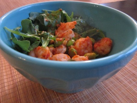 Quick and Healthy Buffalo Shrimp | food and drink | Pinterest