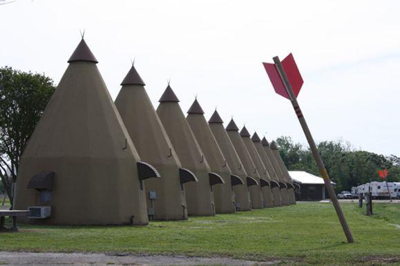 Tee Pee Motel of Wharton, Texas