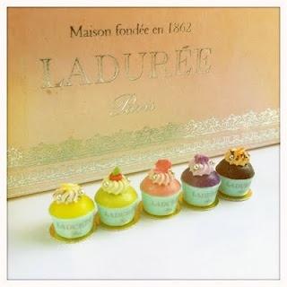 "Miniature Food #French ""Laduree Pastries!"