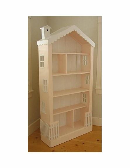 Nursery Bookshelf Dollhouse Bookcase: Kids dollhouse bookcase. Cottage ...