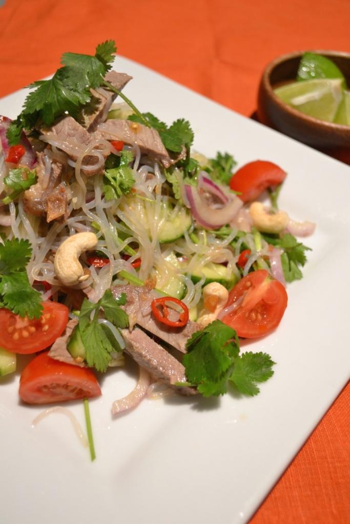 Thai Beef Noodle Salad | YUMMY | Pinterest