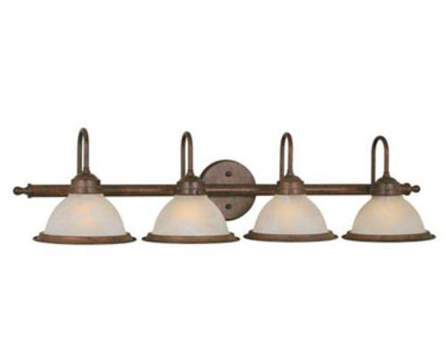 saturn 4 light 35 5 weathered patina vanity light at menards