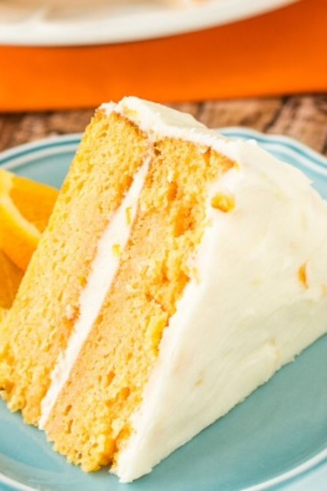 ... cream frosting creamy lemon cake orange cake creamy orange cake