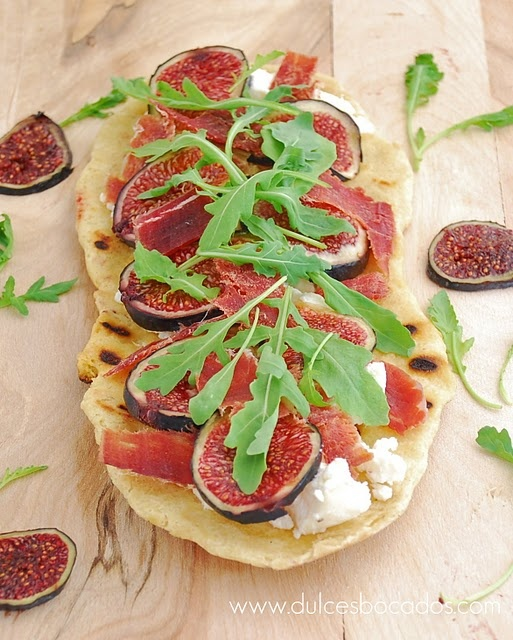 Fig and Goat Cheese Pizza | Appeteasers | Pinterest