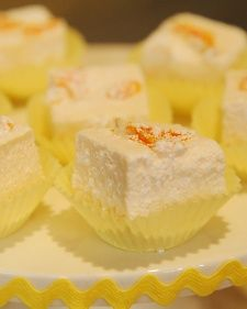 Mandarin orange marshmallows | Mandarin Oranges | Pinterest