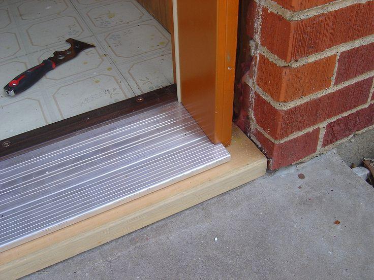Exterior door threshold weatherseal