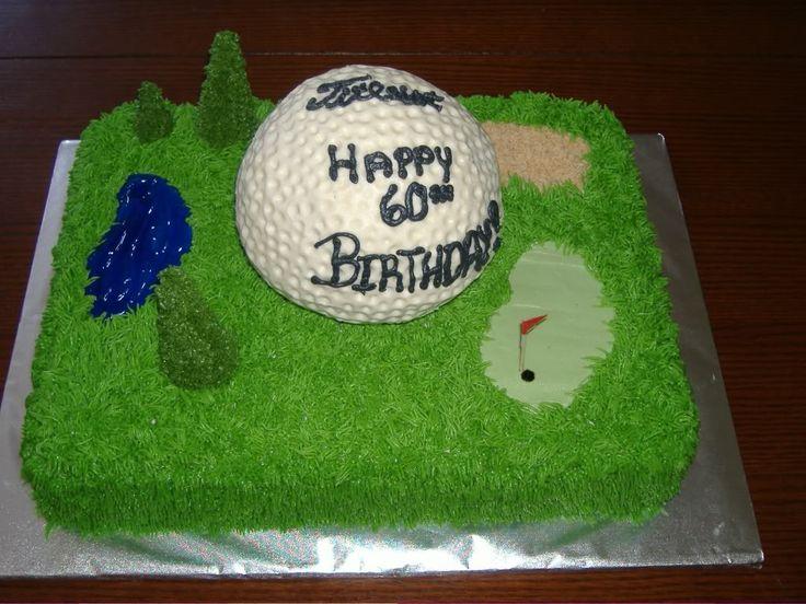 Birthday Golf Cake Ideas 79886 Themed Cakes Golf Themed Bi