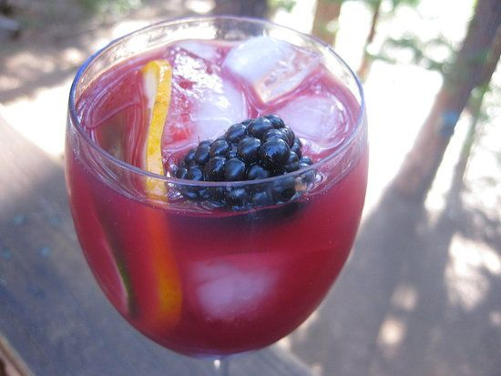 Blackberry and Cabernet Caipirinha | Recipe