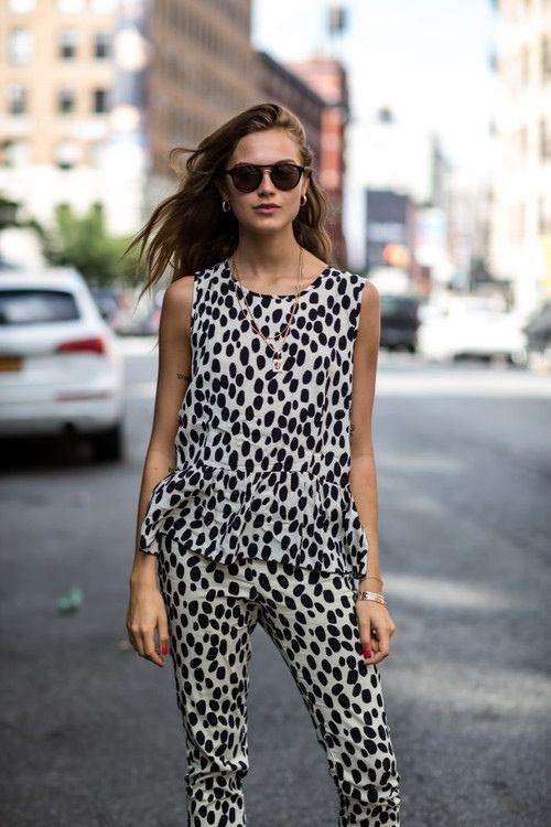 Tuesday Ten: September Style Ideas - Black, white and spotted all over #niciasonoki #fashionista