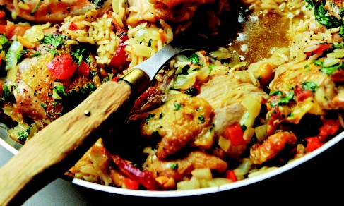 Chicken Peanut Perloo | Recipe