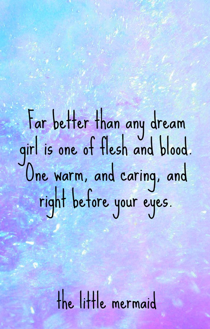 Inspirational Quotes From The Little Mermaid Quotesgram