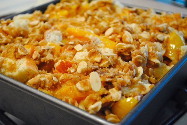 Baked Peach French Toast Casserole | Recipes From The Blog, DuoDishes ...