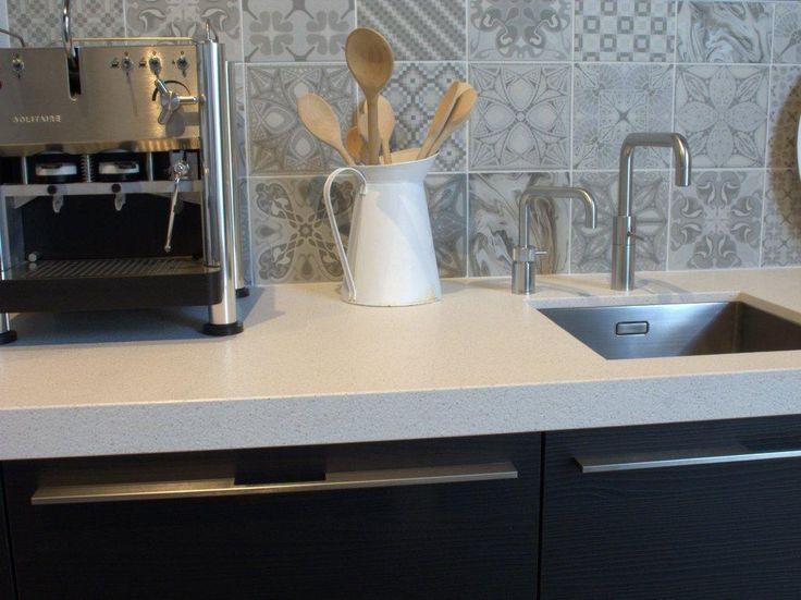 Achterwand Keuken Grote Tegels : patchwork tegels 20×20 (13) Tegelhuys Huis en tuin Pinterest