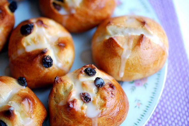 Hot Cross Buns=A part of Easter breakfast in The Richard family the ...