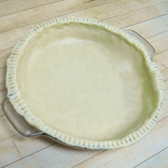 ... pie crust doesn't have to be hard. Here's our favorite pie crust