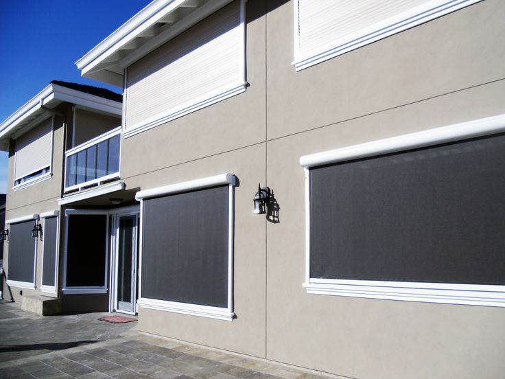 Pin By European Rolling Shutters On Retractable Solar Sun