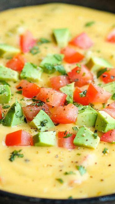 Skinny Queso Dip | Recipe