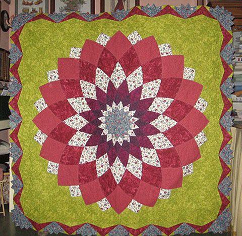 Como hacer una colcha de tela todo manualidades rachael - Patrones para hacer patchwork ...