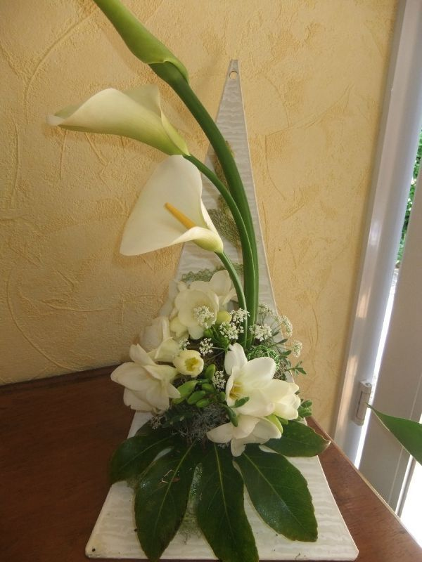 Art Deco Flower Arrangement 09 44 Art Floral Commentaires 2