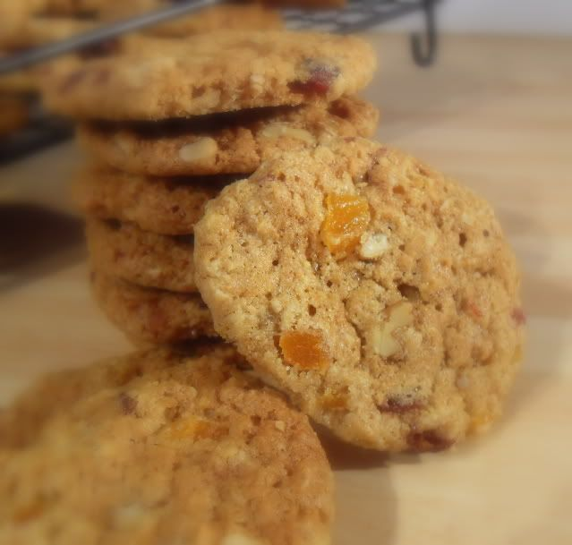 The English Kitchen: Slice and Bake Oatmeal Cookies