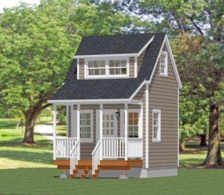 x Tiny House Plans With Loft   Free Online Image House Plans    x House W Loft PDF Floor Plans By ExcellentFloorPlans on x tiny house