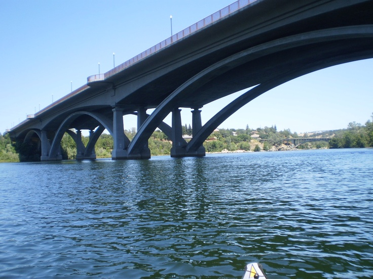 Rainbow bridge lake natoma