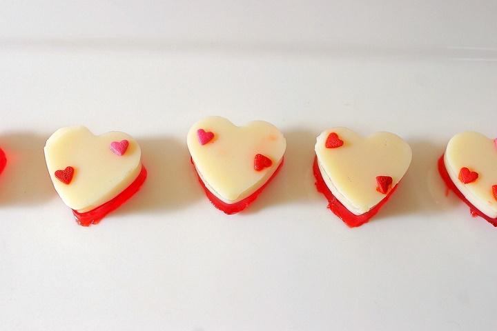valentine's day jello desserts
