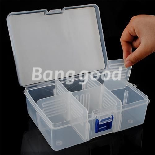 Storage Case Box For Jewelry Pills Nail SD Card Holder Battery 5