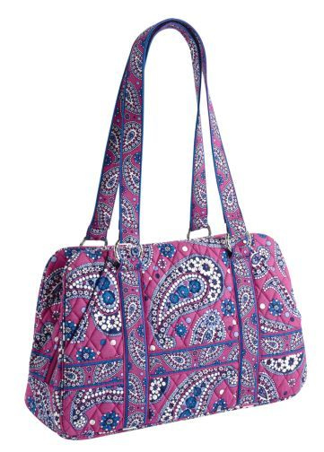 #Win This Gorgeous Vera Bradley Handbag ~ The Spicy Closet
