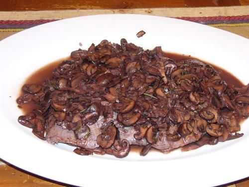 Grilled Flank Steak with Mushrooms | Main Attractions - Beef | Pinter ...