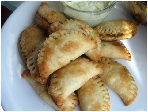 Baked Beef Empanadas | Food for fatties | Pinterest