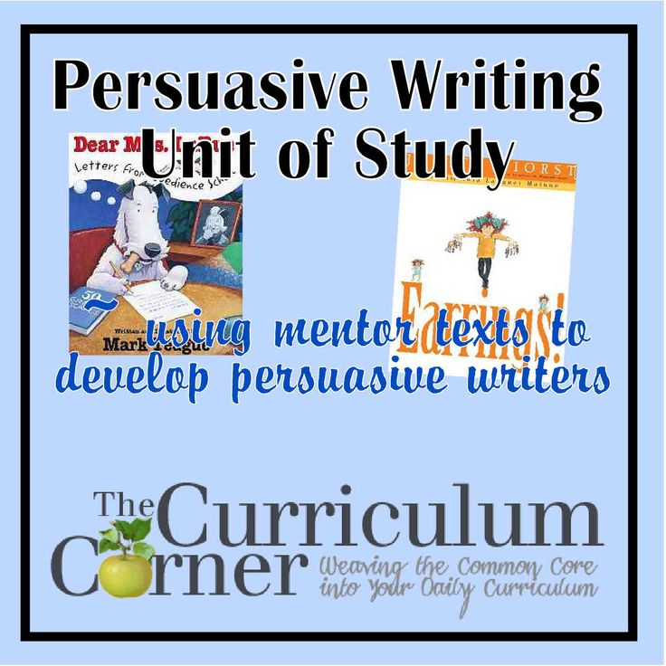 persuasive essay mentor texts Explore nancy barlow's board persuasive writing mentor texts on pinterest | see more ideas about argumentative writing, opinion writing and school.