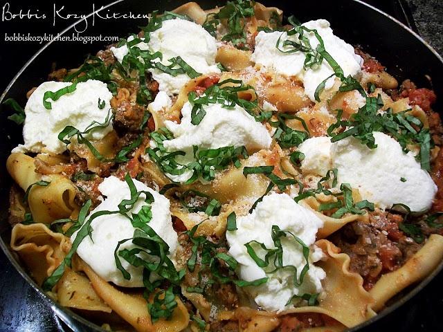 Stove Top Lasagna | Eat This | Pinterest