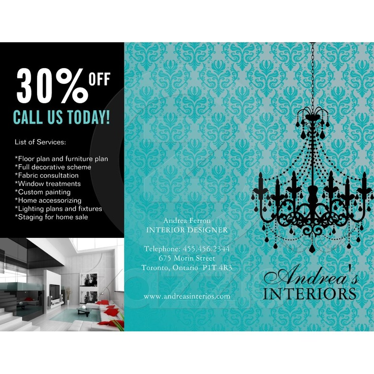 Pin by sherly genoveva on stuffs pinterest for Interior decoration brochure design