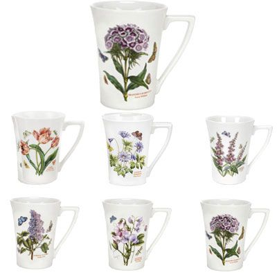 B Amp B Portmeirion ... Garden Mandarin Mug Individual   Portmeirion pottery   Pinter
