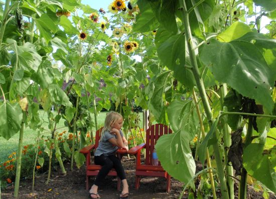 Children's Garden, Fort Ticonderoga, NY